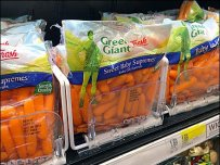 Green Giant Baby Carrot Wire Tray