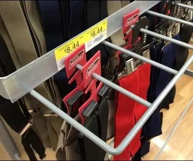Suspenders Merit a Guarded Endcap Rack