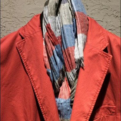 Men's Seersucker Scarf 4