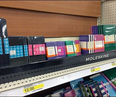 Moleskine Mass Merchandised 1