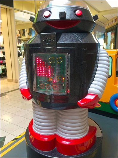 Mr Roboto at the Mall 2