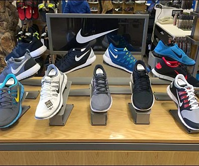Nike Shoe Display