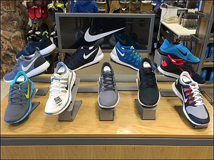 Nike Shoe Display