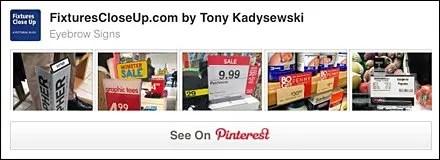 Sign Eyebrows FixturesCloseUp Pinterest Board