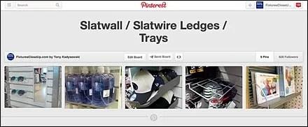 Slatwall-Slatwire Ledges-Trays