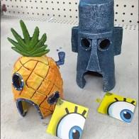 Sponge Bob Aquarium Accessories Main