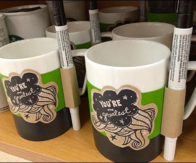Starbucks Personalized Coffee Mug Sale Main
