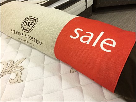 Stearns and Foster Branded Sale