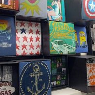 T-Shirt Cubes at Macys