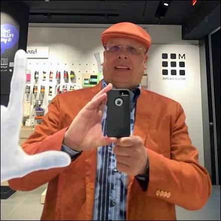 Kangol Retail Fixtures - Tony Kadysewski Store Selfie