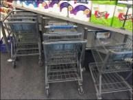 Diagonal Shopping Cart Park 3