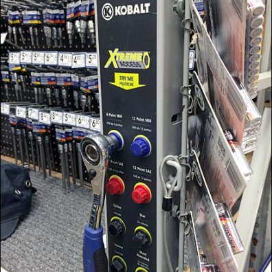 Kobalt Color-Coded Tool Try-Me