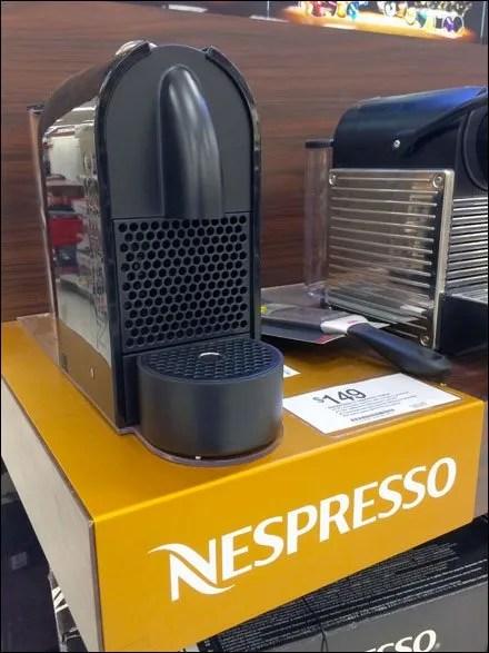 Nespresso Brand Shelf Overlay