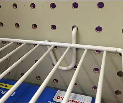 PwerWing Full-Width Open Wire Shelf 3