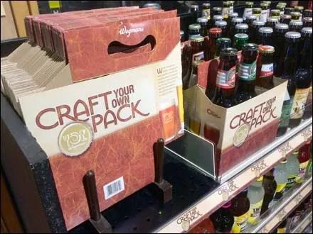 Wegman's Craft Your Craft Beer