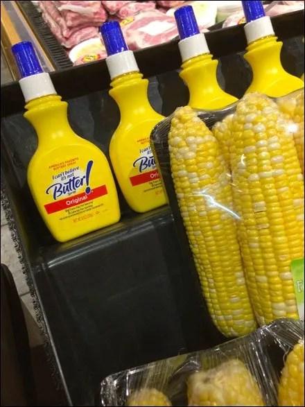 Fresh Corn Cross Sell to Butter Main