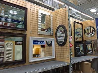 Gridded Mirror Display 1