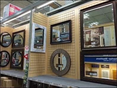 Gridded Mirror Display 3