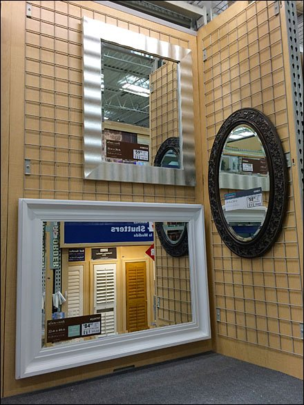 Wire Grid Mirror Display In Hardware