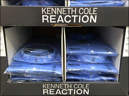 Kenneth Cole Shirts by Pallet Detail