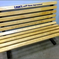 Lowes Knows Branded Bench