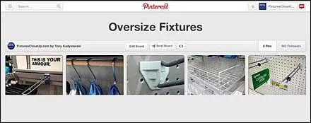 Oversize Fixtures FixturesCloseUp Pinterest Board