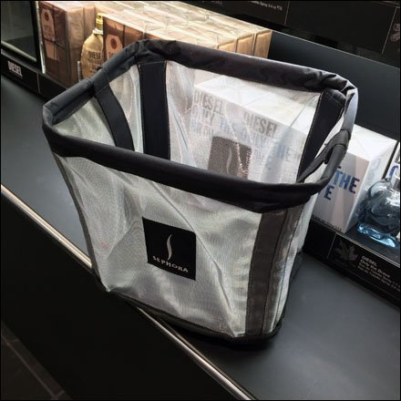 Sephora Metallic Mesh Carry-All