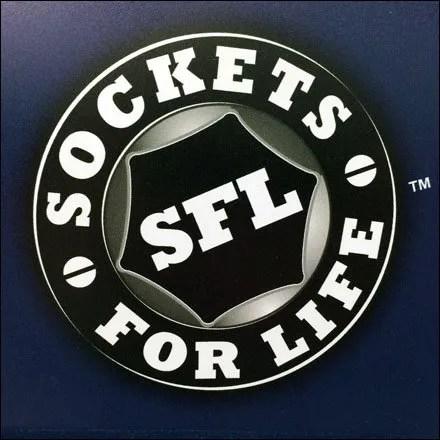SFL Sockets For Life Logo