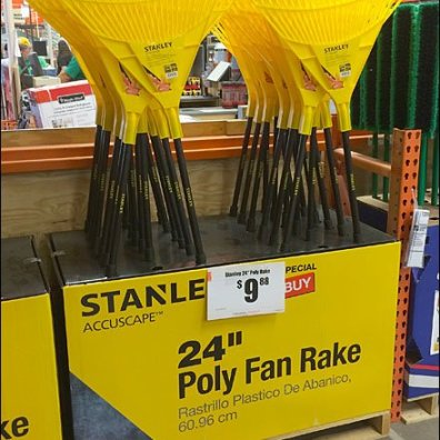 Stanley Fall Rakes by the Half Pallet