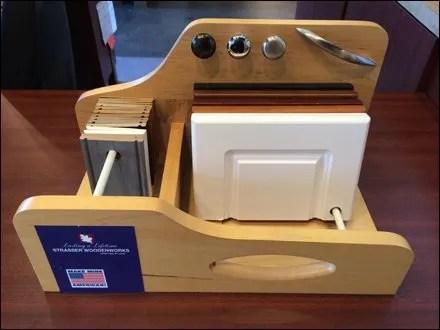 Woodenworks Swivel Sampler Display