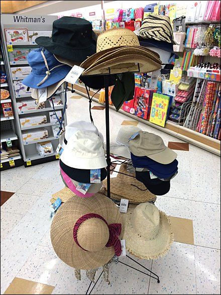 Summer Hat and Cap Tree Main