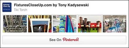 Tiki Torch Merchandising Store Fixtures Pinterest Board
