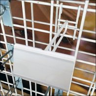 White All Wire Scanning Grid Hook Main