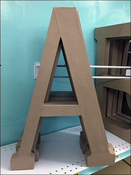 Angled Alphabetic Shelf Dividers