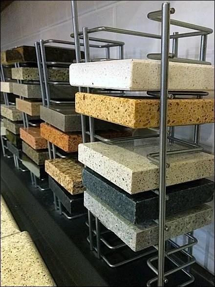 Open-Wire CaesarStone Tile Sampler