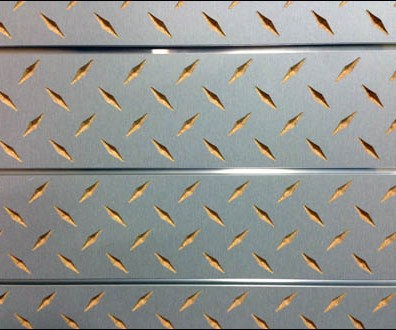 Diamond Plate Slatwall by Windmill Slatwall Main