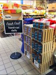Die-Cut Fresh Fruit Sign Aux
