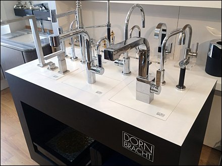 Dornbracht Display Faucet Swap-Out