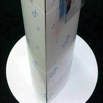 Elliptical Curved Corrugated 3