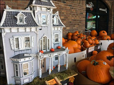 Haunted House Pumpkin Sale 1