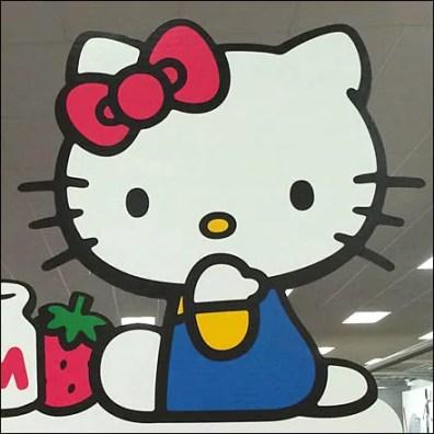 Hello Kitty Retail Fixtures