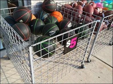 Roll-Away Bulk Bin Sidewalk Sale 2