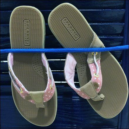 Sperry Top Sider Bungee Corded Detail