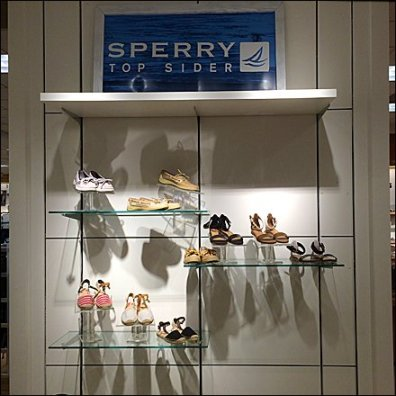 Sperry Top Sider Dept Branding