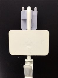 Straight Entry Hang Rod Strip Merchandiser 1