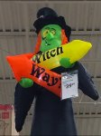 Which Way Witch Halloween Directional