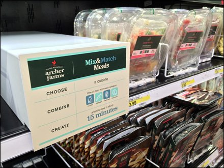 Archer Farms Mix & Match Meals Cooler Promo