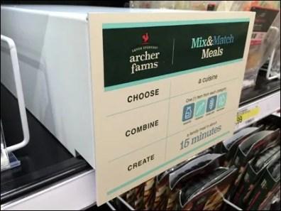 Archer Farms Mix & Match Meals Cooler Promo