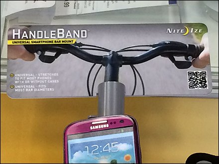 Handle-Band Cardboard Handle Bar Header
