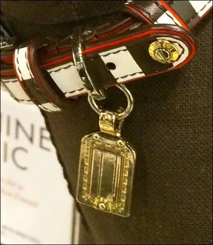 Branded Henri Bendel Collar Rivet